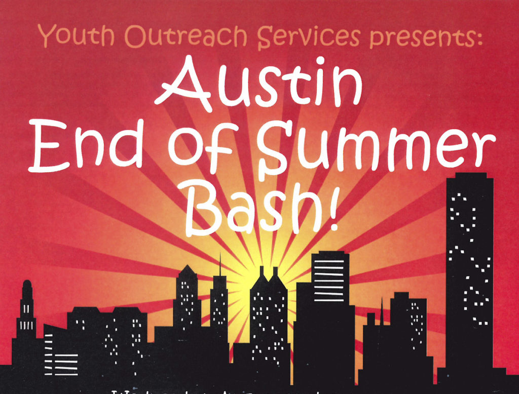 Youth Outreach Services is bringing positive vibes to Austin with End of Summer Bash