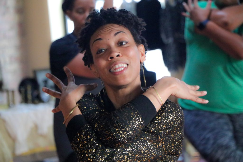 Aya-Nikole Cook uses yoga as a method of healing on Chicago's South Side