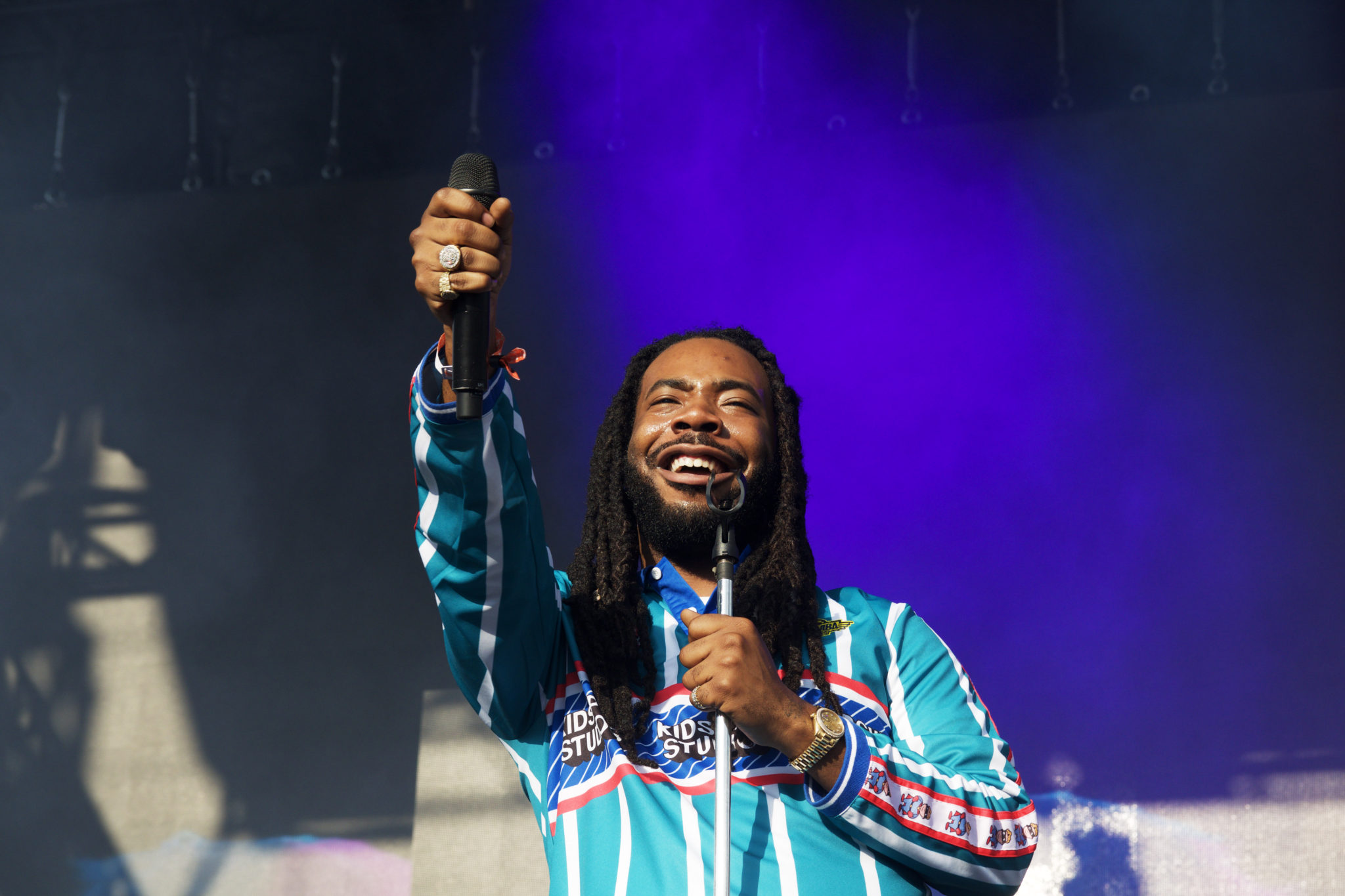 DRAM at his Pitchfork set | Photo by Nelson Okunlola (The TRiiBE)