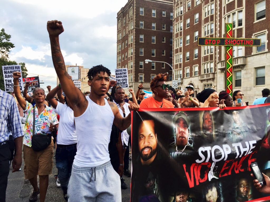 For marchers, the fatal police shooting of Harith Augustus is another example of disregard for Black life