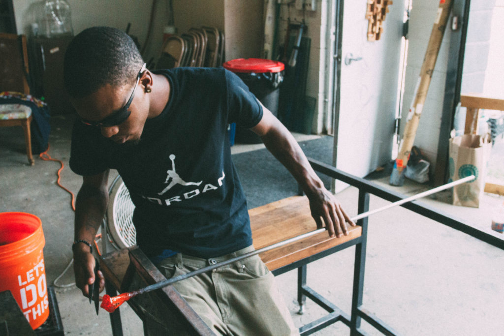 Project Fire uses glassblowing as a form of healing from gun violence