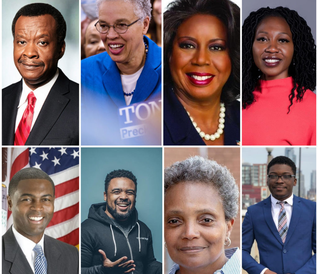 Wait a minute: who's Black and running in Chicago's mayoral and aldermanic races?