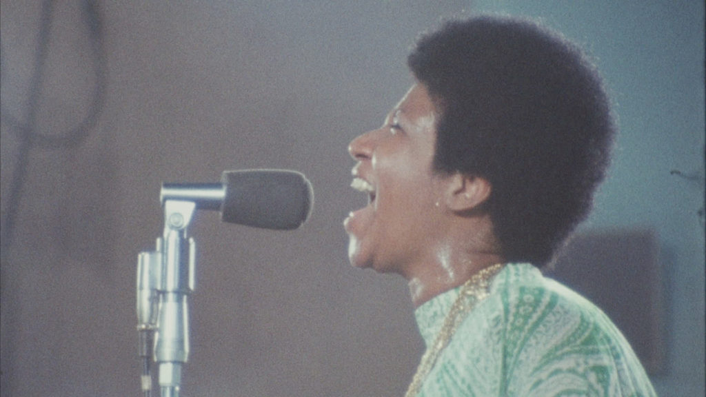 Aretha Franklin takes us to church in 'Amazing Grace' doc