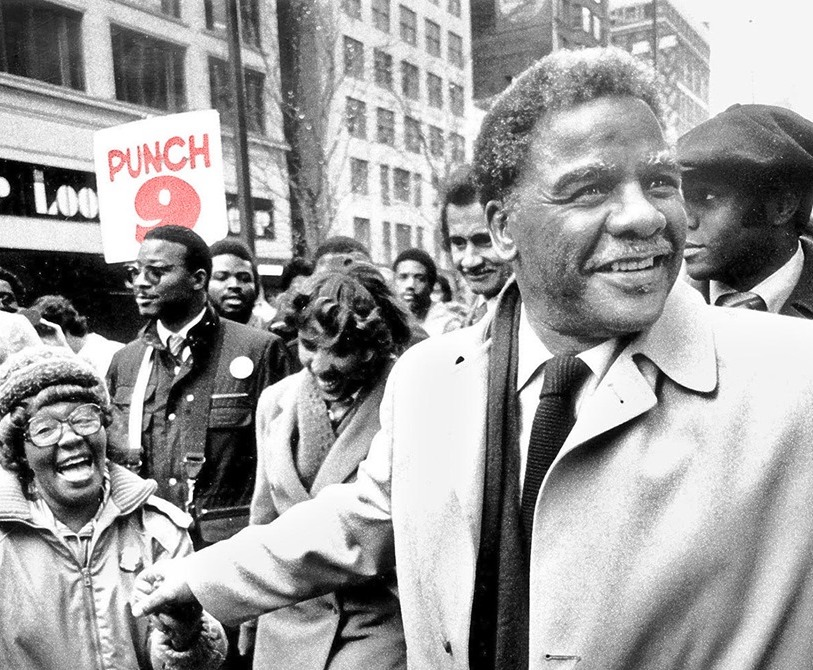 'Punch 9' doc will tell the story of Harold Washington's historic mayoral win in Chicago