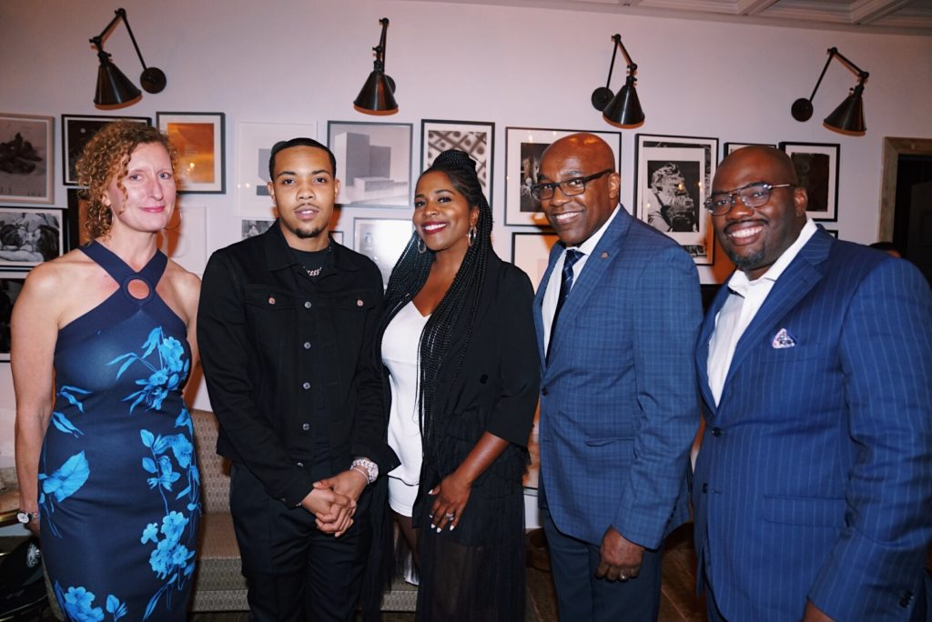 G Herbo, Illinois lawmakers celebrate wins in criminal justice reform at Alliance for Safety and Justice dinner